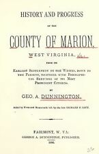 1880 MARION County West Virginia, WV, History & Genealogy Family Tree DVD CD B19