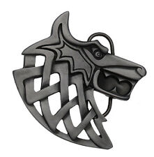 Viking Wolf Belt Buckle In a Gift Box.