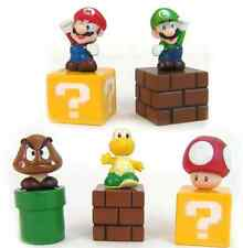 Super Mario Bros Action figures 5 pc Cake Topper US Seller Toys for Boys Girls