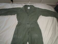 Used Military Men's Coverall size: Small