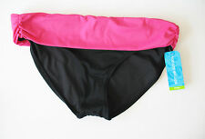Tropical Escape Womens Roll Waist Bikini Bottom Sweet Watermelon Sz 14 - NWT