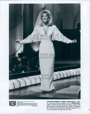 1987 Pretty Blond Debra Sandlund of Illinois Dream Girl USA TV Press Photo