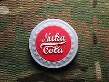 Fallout Nuka Cola 3D PVC Tactical Hook Military Morale Patch Paintball Airsoft