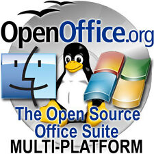 OpenOffice Software Suite for Windows/Mac/Linux/Solaris + FREE Extras!