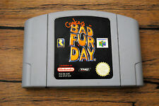 Jeu CONKER'S BAD FUR DAY pour Nintendo 64 N64 (version PAL)