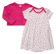 Carter's 2-pc set - Printed Dress with Fuchsia Cardigan Set (GBC-618), 12 months