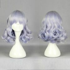 Short Curly Synthetic Cosplay Muse Light Blue Women's Fashion Anime Lolita Wig