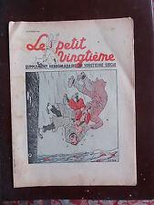 Tintin - Petit Vingtième n°7 - 18/02/1937 - BELLE COUVERTURE TINTIN - TTBE!!!