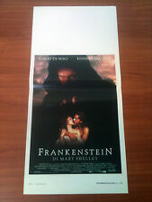 FRANKENSTEIN DI MARY SHELLEY locandina poster Robert De Niro Kenneth Branagh