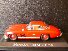 MERCEDES BENZ 300 SL RED 1954 RBA COLLECTABLES 1/43 ROSSO ROUGE ROT BLISTER