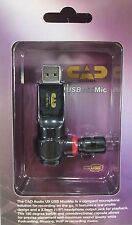 CAD Audio USB Mini Microphone - Omnidirectional, MAC and Windows Compatible