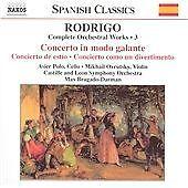 NAXOS CD: Joaquin Rodrigo - Rodrigo: Complete Orchestral Works, Vol. 3 (2002)