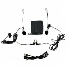 New Motorcycle Motorbike Helmet Wired Intercom 2-Way Headset Earphone OO55