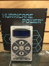 Hurricane HP-2 Silver Dual Digital LCD Tattoo Power Supply- New Version