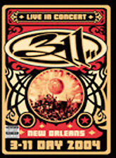 311 DAY 2004 : LIVE IN NEW ORLEANS (DVD, 2004) LIVE CONCERT MUSIC