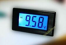 DC 0-19.99V Blue Large LCD Battery Indicator Monitor Voltage Meter Updated MZ