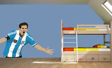 Lionel Messi Vector Argentina Wall Decal Vinyl Sticker For Room Home Bedroom