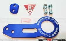 EPR Blue Rear Tow hook Honda Civic EG EK EP3 Type R Integra DC2 DC5 Prelude