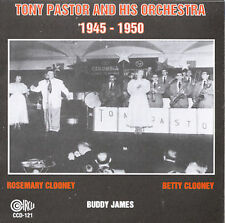 Pastor, Tony & His Orchestra-Tony Pastor And His Orchestra, 1945-50 CD NEW