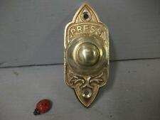 victorian Style solid Brass door Bell Push - new - style 4