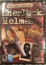 THE LOST CASES OF SHERLOCK HOLMES (PC) BRAND NEW SEALED - FREE U.S. SHIP - NICE