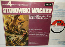 PFS 4116 Wagner The Ring Of The Niebelung OrchestralPieces LSO Leopold Stokowski