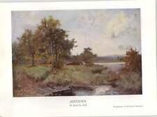1930 Sir Alfred East Autumn Art Print
