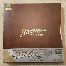 Indiana Jones Trilogy box set 1993 5LD Japan Laserdisc  George Lucas film MINT