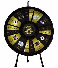 "31"" Insert Your Own Graphics Prize Wheel with 12-24 Slots on a table stand!"