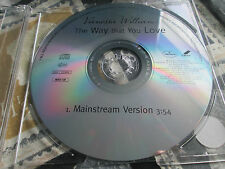 Vanessa Williams ‎– The Way That You Love Mercury ‎MERDIJ 349 Promo CD Single