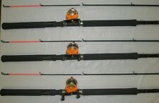 HT PANFISH SPECIAL CRAPPIE FISHING POLE COMBO 10' W/ WR-20 REEL SET OF 3 PS-102