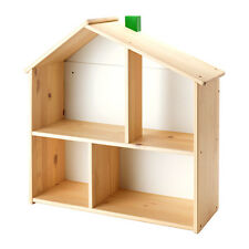 FLISAT Doll's Play House Books Photos Wall Shelf,KIDS ROOM,Solid Wood,Multi use