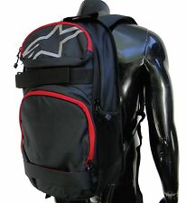 Alpinestars Racing Optimus Black/Red Skate Bag Backpack School Bag