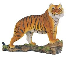 "7.5"" Bengal Tiger Statue Figurine Safari Wildlife Wild Cat Animal Figure Nature"