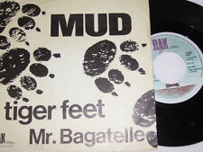 "7"" - MUD / Tiger Feet & Mr.Bagatelle - 1973 DUTCH DIFF # 1635"