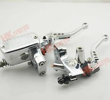 """1"""" Brake Master Cylinder Clutch Levers For Honda STEED 400 shadow 600 VT750"""