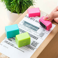 Security Hide ID Mini Roller Stamp Self-Inking Garbled Messy Code Protect Guard