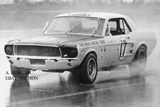 Ford Shelby GT 350 Mustang & Jerry Titus – Trans-Am racing photograph photo