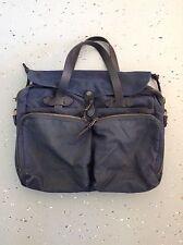 Filson Original 24 Hour Tin Cloth Briefcase Navy