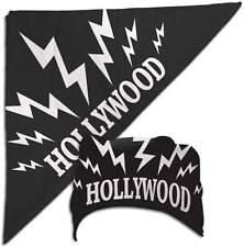 Hulk Hogan Black Hollywood Sparks Bandana New