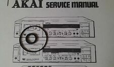 Riemen/Belt + Idler Service-Kit für AKAI GX-52 GX-F31 GX-F51 Cassette Tape Deck