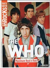 THE WHO - Daltrey - Townshend - LES INROCKS SPECIAL 100 PAGES COLLECTOR 2015