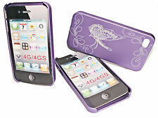 DESIGN No.2  HARD BACK COVER CASE APPLE iPHONE 4G - 4Gs  + Displayschutzfolie