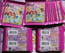 Brazil Panini Disney Princess Glamour Sticker lot of 50 pack new