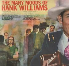 Hank Williams - 'The Many Moods Of' 1966 UK MGM Mono LP. Ex!