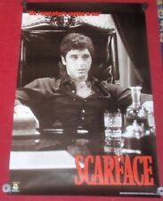 Scarface Poster 22x34 NEW Reproduction Scorpio #1010  I Want What's Coming To Me
