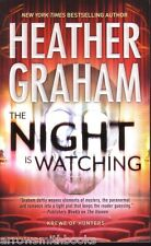 Heather Graham  The Night Is Watching   Krewe  Paranormal Romance  Pbk NEW