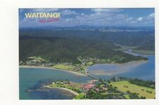 Waitangi Bay Of Islands New Zealand Postcard 437a