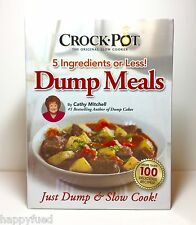 Crock Pot DUMP MEALS Recipes Cathy Mitchell As Seen On TV 5 Ingredients or