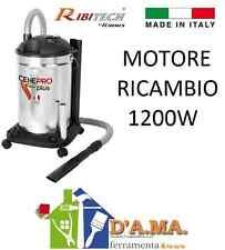 MOTORE RICAMBIO BIDONE ASPIRACENERE  RIBITECH CENEPRO' 1200W STUFE PELLET